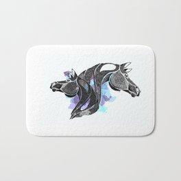 dot of horse Bath Mat