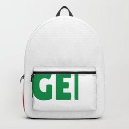 Genova Italy flag holiday gift Backpack
