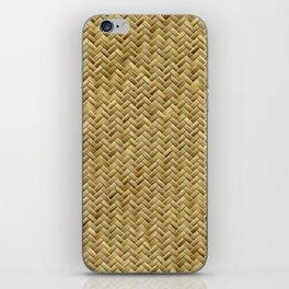 Basket Weaving iPhone Skin