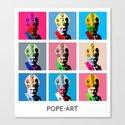 Pope art by restart