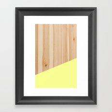 Yellowood Framed Art Print