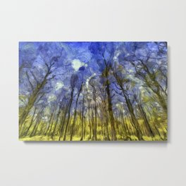 Fantasy Art Forest Metal Print
