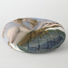 THE BIRTH OF VENUS - ALEXANDRE CABANEL Floor Pillow