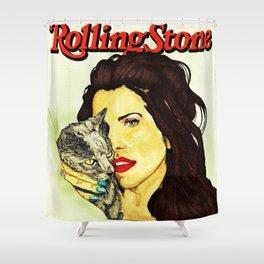 Lana for RollingStone Magazine Shower Curtain