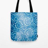 batik Tote Bags featuring Batik by ReneePulve