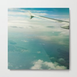 Tropical Getaway Metal Print