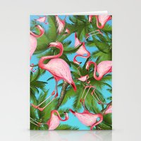 palm tree Stationery Cards featuring Palm tree by mark ashkenazi