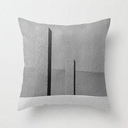 Concrete Posts 1 Throw Pillow