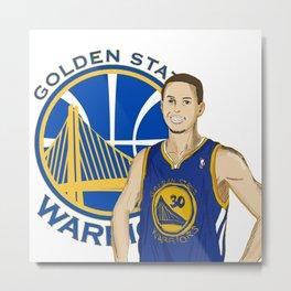 Golden State Metal Print