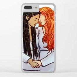 Greta & Da-Xia Clear iPhone Case