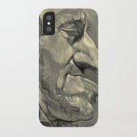 springsteen iPhone & iPod Cases featuring Springsteen by Alan Carlstrom
