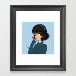 chu Framed Art Print