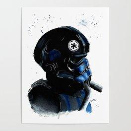 Tie pilot Empire Star Watercolor Fanart Mugs Tshirts Prints Poster