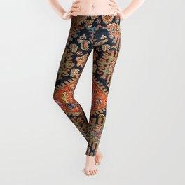 Hamadan  Antique West Persian Rug Print Leggings