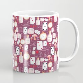 Alice in Wonderland - Purple Madness Coffee Mug