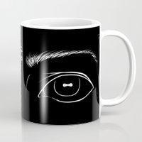 baphomet Mugs featuring Insight by Purgatouri