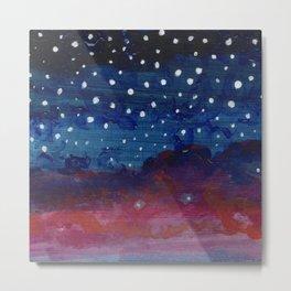 Starlight Fade III Metal Print