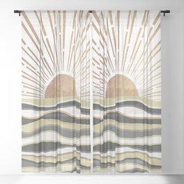 Sun Breeze-Vanilla shade Sheer Curtain
