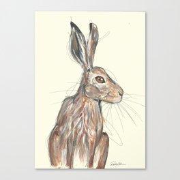 British Hare Canvas Print