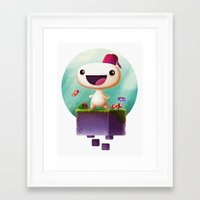 selena gomez Framed Art Prints featuring Gomez by Gazulo Marquez