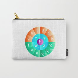 Standard Model of Particle Physics Carry-All Pouch