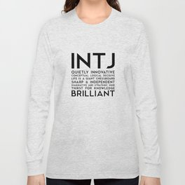 INTJ Long Sleeve T-shirt