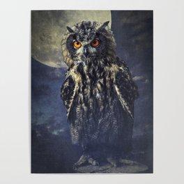Eagle-Owl Poster