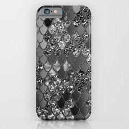 Mermaid Glitter Scales #7 (Faux Glitter) #shiny #decor #art #society6 iPhone Case