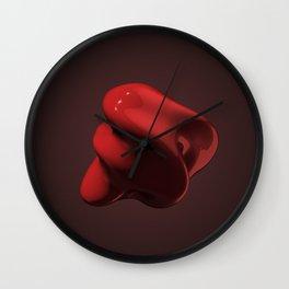 Blobby Wall Clock