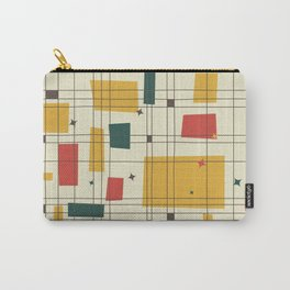 Mid-Century Modern (gold) Carry-All Pouch