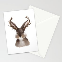 Wild Jackalope Stationery Cards