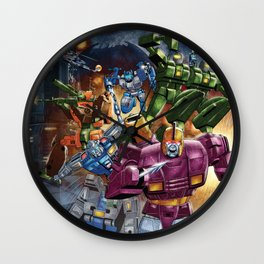 Wreck n Rule! Wall Clock