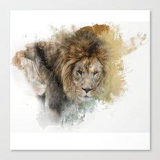 Expressions Lion Canvas Print