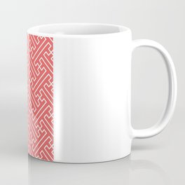 Lattice - Coral Coffee Mug