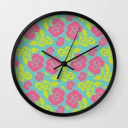 Chinese Pattern Wall Clock
