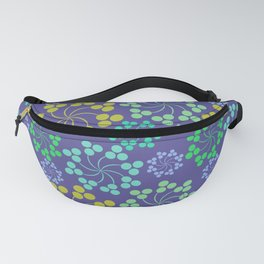 Fun Multicolored Whirligig Pattern Fanny Pack