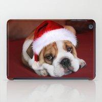 bulldog iPad Cases featuring Bulldog by Julie Hoddinott