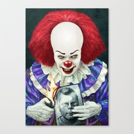 Pennywise (1990) Canvas Print