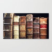 library Canvas Prints featuring Library by Mad Marys