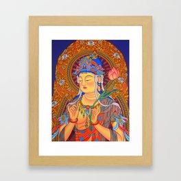 Avalokiteswara painting Framed Art Print