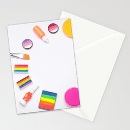 Colorful Image, Makeup Artist, Photo, Image, Wristwatch Image, Sour Stick, Colorful Image, Photograp Stationery Cards