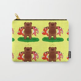 Strong Bear Carry-All Pouch
