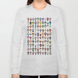 THE ULTIMATE 'AVENGER'S' ROBOTIC COLLECTION Long Sleeve T-shirt