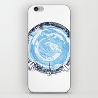 cities iPhone & iPod Skins featuring Paronamic NZ by MARIA BOZINA - PRINT