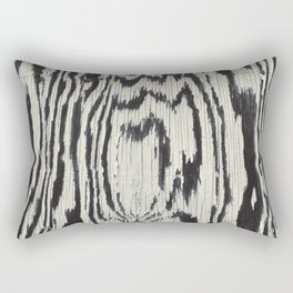 Zebra Wood Rectangular Pillow