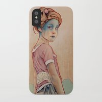 michael jackson iPhone & iPod Cases featuring Within White by Michael Shapcott