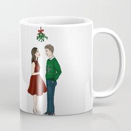 Academy FitzSimmons under the mistletoe Coffee Mug