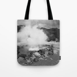Hot spring Tote Bag