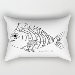 Catch of the Day Rectangular Pillow