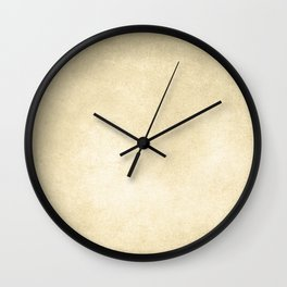 Simply Antique Linen Paper Wall Clock